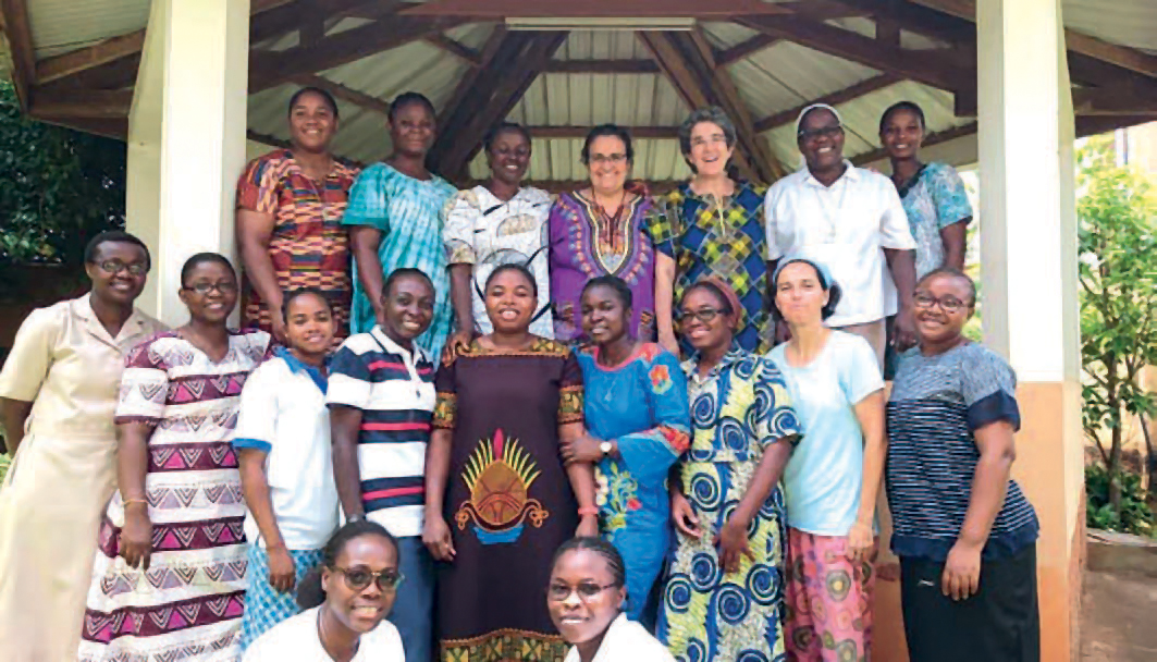 Mirada de ternura al corazón de África: La obra de las religiosas de Jesús-María en Camerún, Guinea Ecuatorial, Nigeria y Gabón